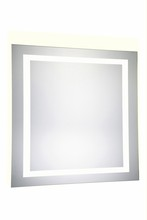 "Elegant MRE-6030 - 4 Sides LED Electric Mirror Rectangle W36""H36"" Dimmable 5000K"