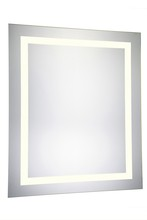 "Elegant MRE-6041 - 4 Sides LED Electric Mirror Rectangle W32""H40"" Dimmable 3000K"
