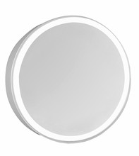"Elegant MRE-6105 - 4 Sides LED Edge Electric Mirror Round D30"" Dimmable 5000K"