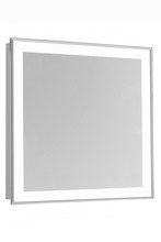 "Elegant MRE-6109 - 4 Sides LED Edge Electric Mirror Rectangle W36""H36"" Dimmable 5000K"