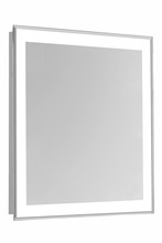 "Elegant MRE-6110 - 4 Sides LED Edge Electric Mirror Rectangle W32""H40"" Dimmable 5000K"