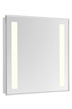 "Elegant MRE-6305 - 2 Sides LED  Electric Mirror Rectangle W32""H40"" Dimmable 5000K"
