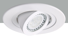 "Elegant R4-488MW - 4"" Matte White 35 degree adjustable spot 50W MR16"