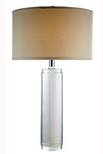 Elegant TL1002 - Regina  Collection 1-Light Chrome Crystal Table Lamp