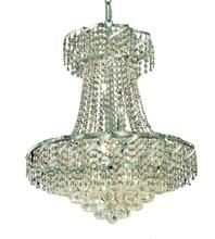 Elegant VECA1D22C/RC - Belenus Collection Chandelier D:22in H:26in Lt:11 Chrome Finish (Royal Cut Crystals)