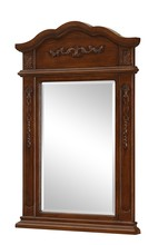 Elegant VM-1005 - Danville 24 in. Traditional Mirror in Brown