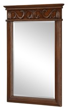Elegant VM-1007 - Danville 25 in. Traditional Mirror in Brown
