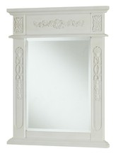 Elegant VM-1010 - Danville 22 in. Traditional Mirror in Antique White