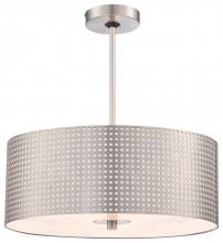 Minka George Kovacs P5743-084 - 3 LIGHT DRUM PENDANT