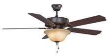 Fanimation BP220BOB1 - Aire Decor - 52 inch - OB with Glass Bowl Light