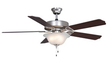 Fanimation BP220BSN1 - Aire Decor - 52 inch - SN with Glass Bowl Light