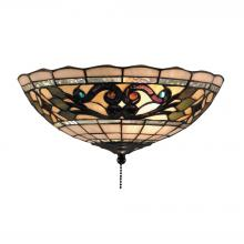 ELK Lighting 990-D - Tiffany Buckingham 2 Light Flushmount In Vintage